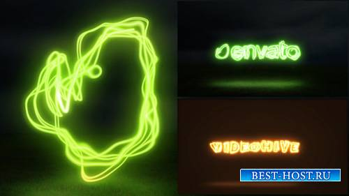 Light Painting Logo - Project for After Effects (Videohive)
