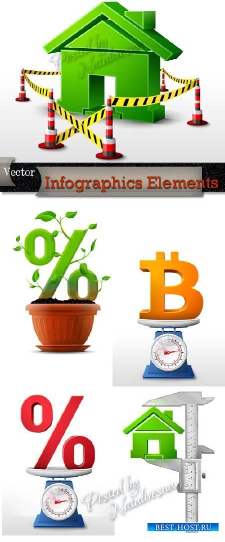 Infographics Elements in Vector # 12