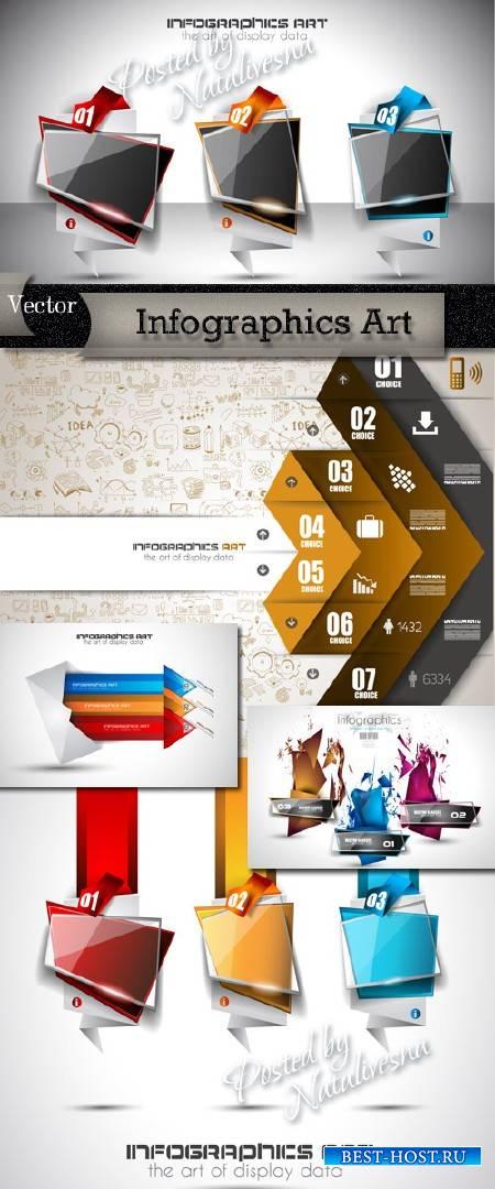 Infographics Art in Vector # 13