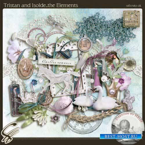 Романтический скрап-комплект - Тристан и Изольда