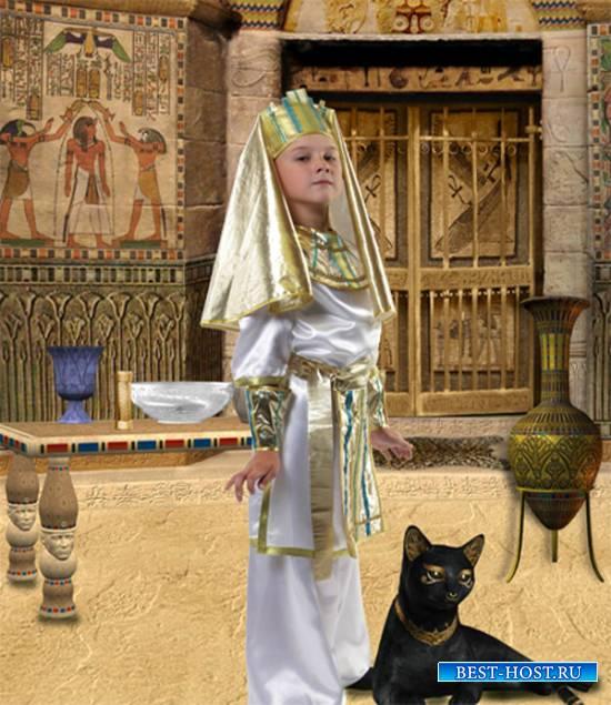 Шаблон  детский - Фараон