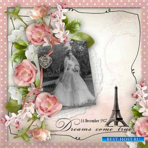 Винтажный скрап-комплект - La Vie En Rose