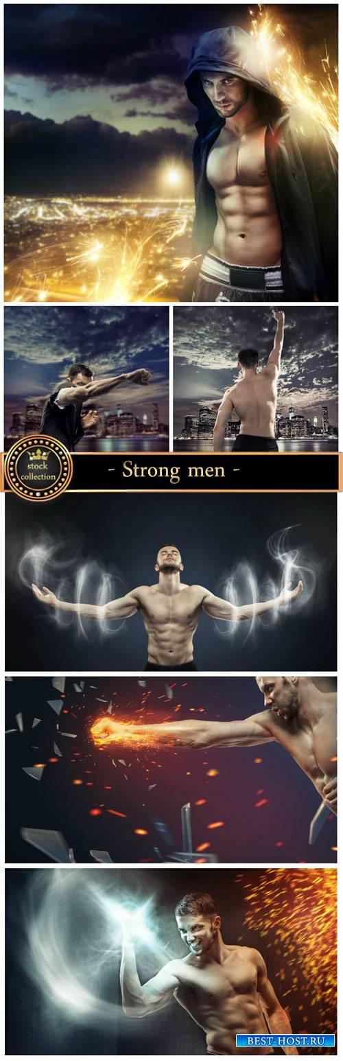 Strong men #4 - creative stock photos