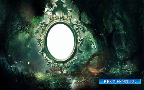 Фото рамка - Загадочный лес