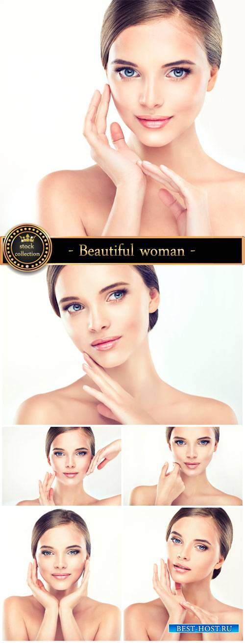 Beautiful well-groomed woman - stock photos