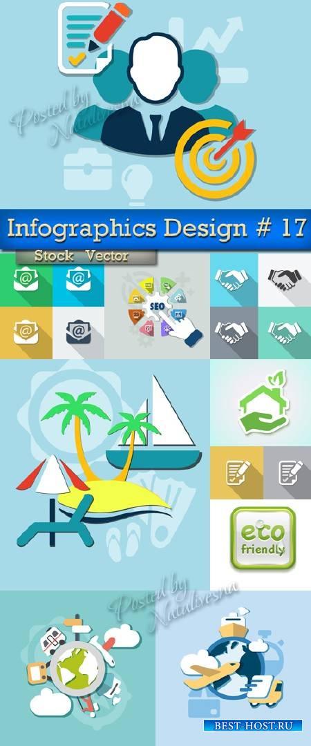 Infographics Elements Design in Vector # 17