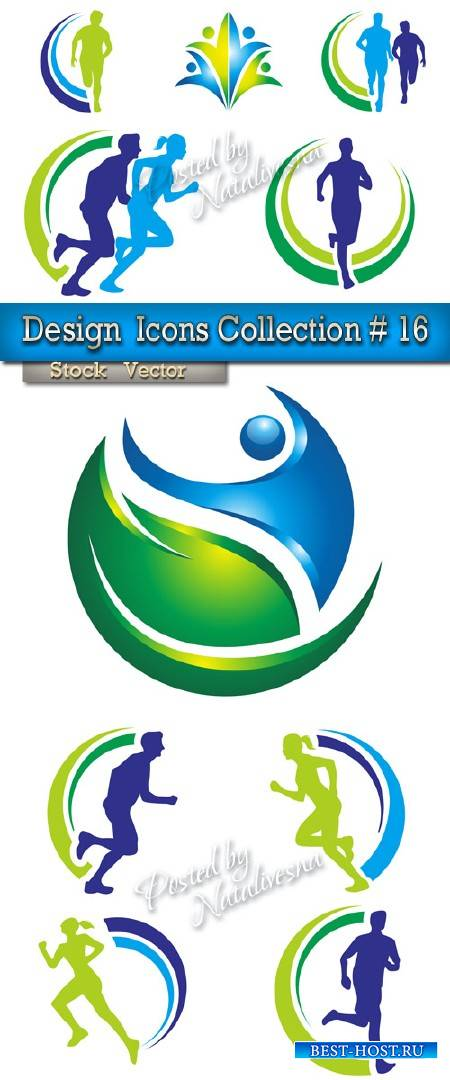 Elements in Vector - Design  Icons Sport Collection # 16