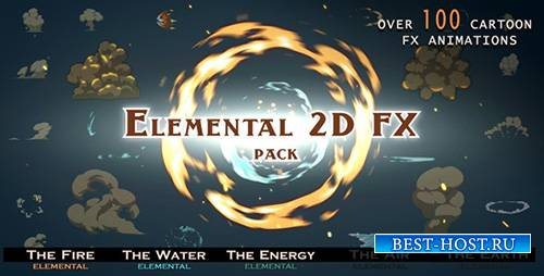 Elemental 2D FX pack - Motion Graphics +ae (Videohive)