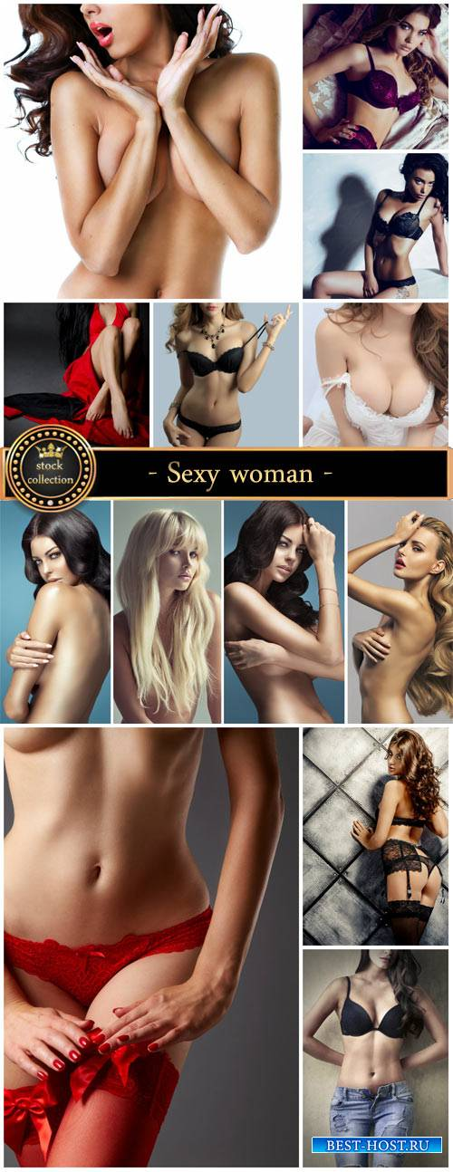 Sexy women, beautiful girl in lingerie - Stock Photo