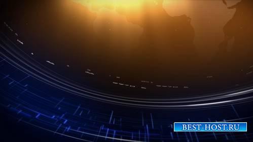Футаж - Движение планеты / Global Decisions HD