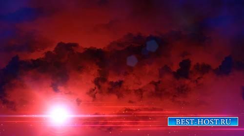 Футаж - Облака в сумерках / Constant Dusk HD