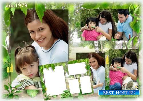 Рамка для фотошопа - Русская природа