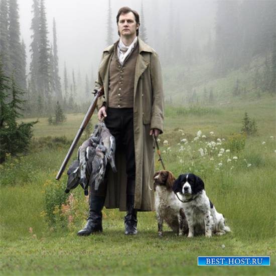 Шаблон  мужской - Удачливый охотник