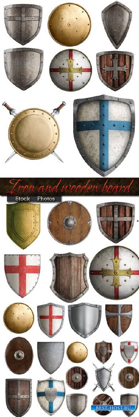 Железный и деревянный щит - Большая подборка для творчества