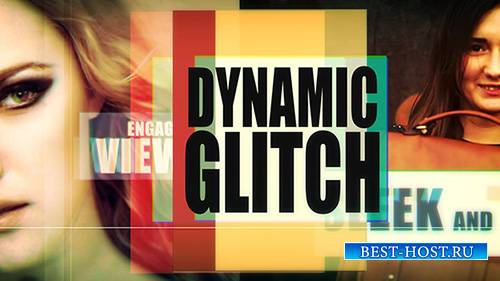 Dynamic Glitch - Project for After Effects (Videohive)