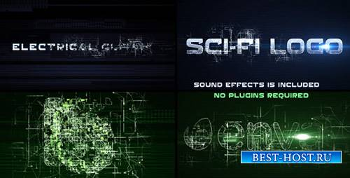 Sci-Fi Electrical Glitch - Project for After Effects (Videohive)