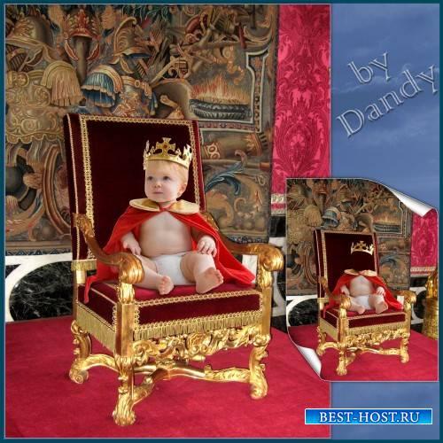 Шаблон для фотошопа - Царь просто царь