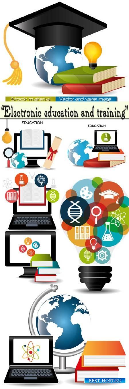 Электронное образование и обучение в Векторе