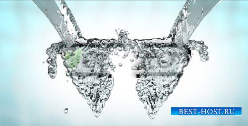 water splash logo Reveal - Project for After Effects (Videohive)