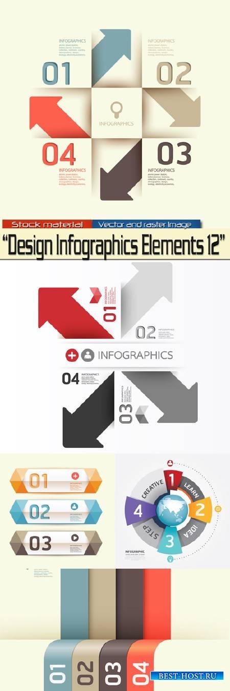 Design Infographics Elements 12