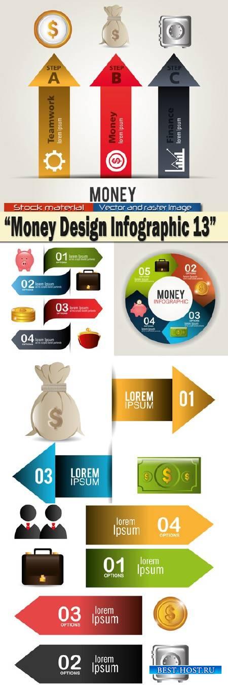 Money Design Infographics 13