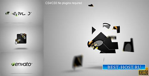 Pieces Logo Formation - Project for After Effects (Videohive)