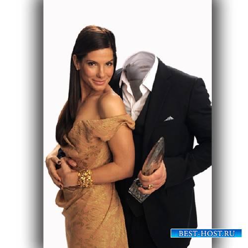 Шаблон мужской - Пара с Сандрою Буллок