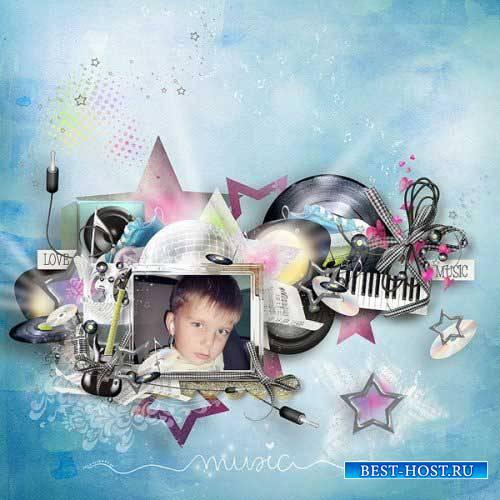 Музыкальный скрап-комплект - Музыка во мне