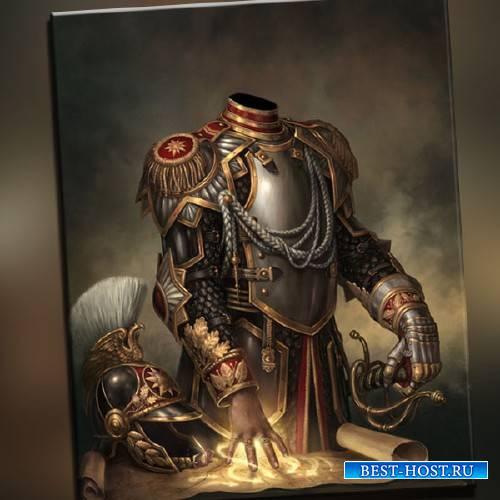 Шаблон для фотошопа - Магический правитель