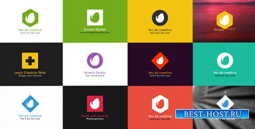 Simple Folding Logo - Project for After Effects (Videohive)
