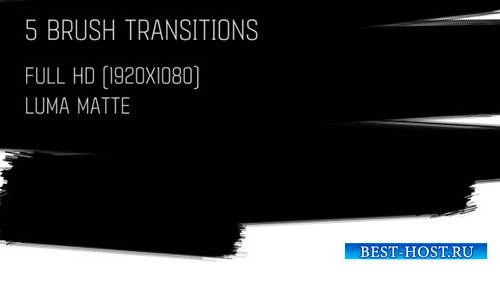 Brush Transitions Pack1- Motion Graphics (Videohive)