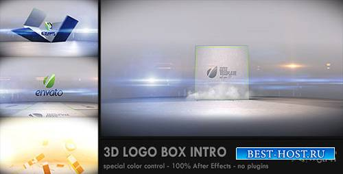 3D Logo Box Intro - Project for After Effects (Videohive)