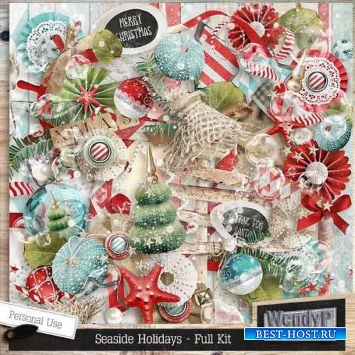 Новогодний скрап-комплект - Приморские празники