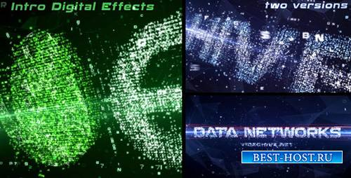 Data Networks Intro - Project for After Effects (Videohive)