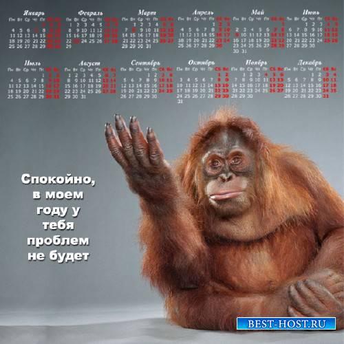 Календарь на 2016 год - Спокойно, проблем не будет
