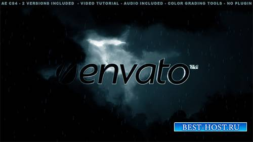 Cinematic Dark Sky Logo Opener - Project for After Effects (Videohive)
