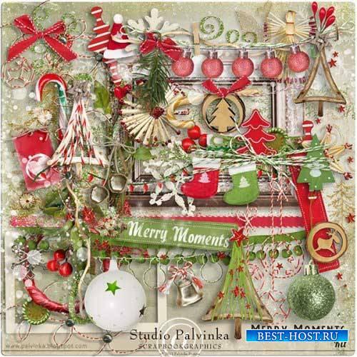 Рождественский скрап-комплект - Радостные моменты