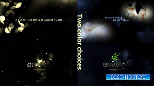Gold Particle and Memories Typography - Project for After Effects (Videohiv ...
