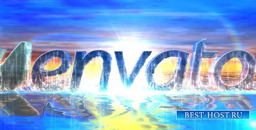 Sea Water Logo Intro - Project for After Effects (Videohive)