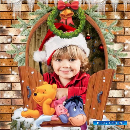 Рамка детская – Зимнее окошко
