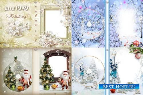 Набор обложек и задувок dvd – Мы встречаем Новый год