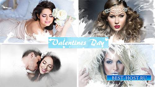 Valentines Day slideshow - Project for Proshow Producer