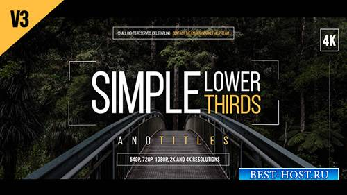Lower Thirds 14001213 - Project for After Effects (Videohive)