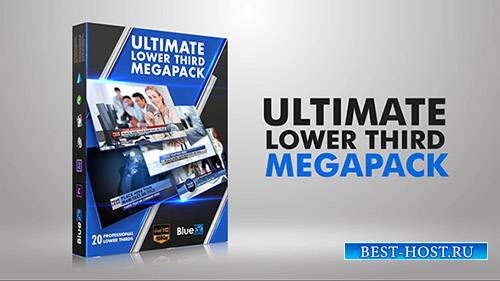 Lower Thirds Mega Pack (20 After Effects Templates)
