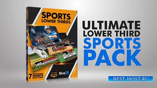 The Ultimate Lower Third Sports Pack - After Effects Templates