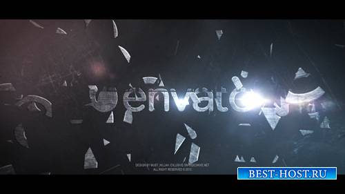 Debris Logo - Project for After Effects (Videohive)