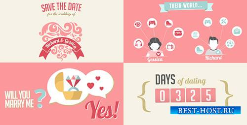 The Two Of Us Love Story Timeline & Save The Date - Project for After Effec ...