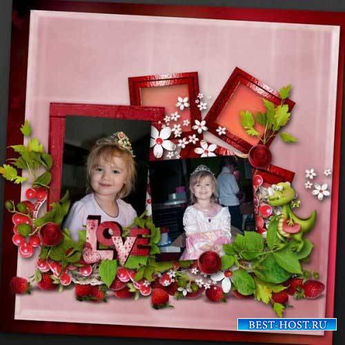 Романтический скрап-комплект - Моя любовь