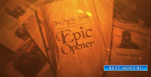 Epic Opener 14542876 - Project for After Effects (Videohive)