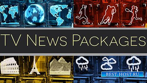 Tv Broadcast News Packages - After Effects Template (pond5)
